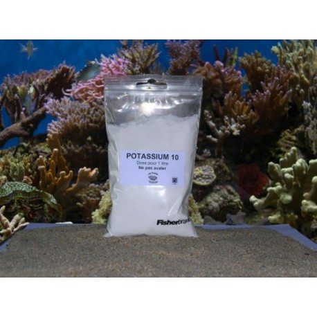 Solution potassium 10% recharge litre