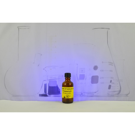 Solution d'iode 5% (iodure de Potassium) 50ml